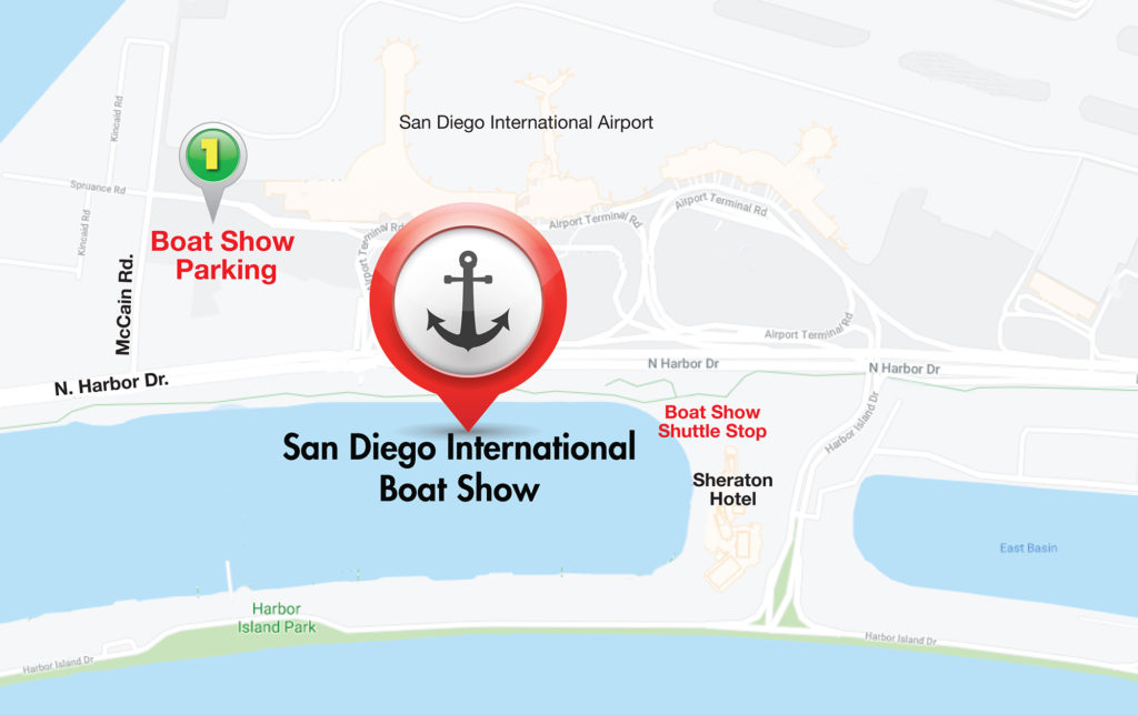 San Diego International Boat Show - Parking